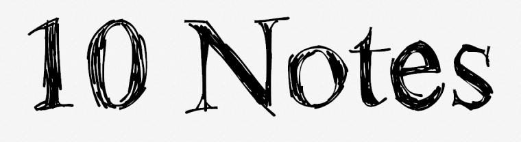 10notes logo
