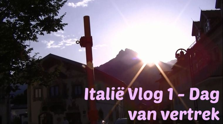 Italië vlog 1 thumbnail