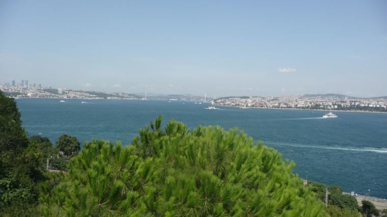 Uitzicht Bosporus