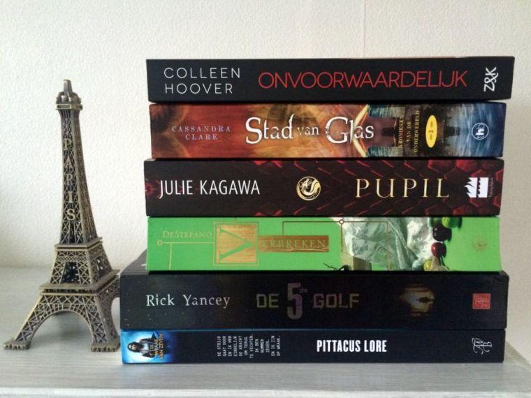 Boeken die ik voor 2016 wil lezen