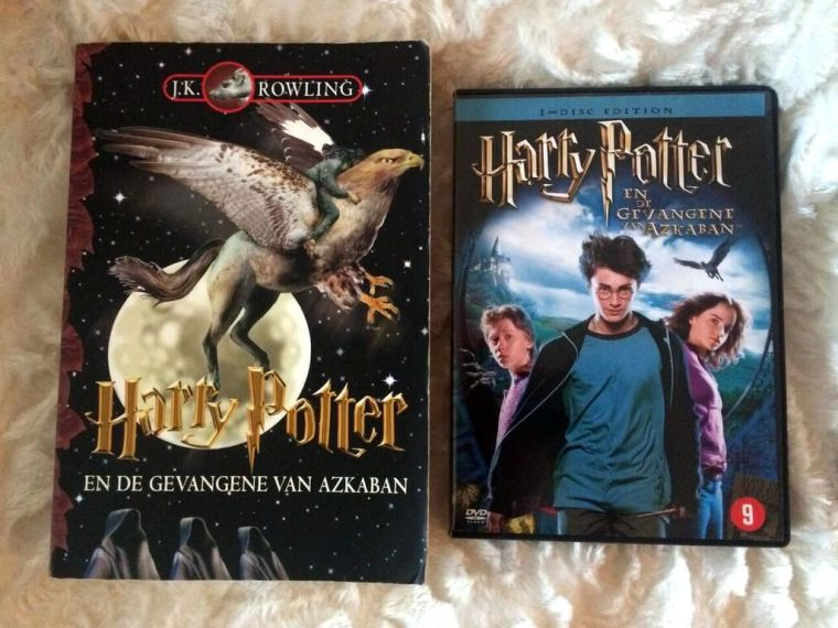 Boek Vs Film Harry Potter En De Gevangene Van Azkaban My