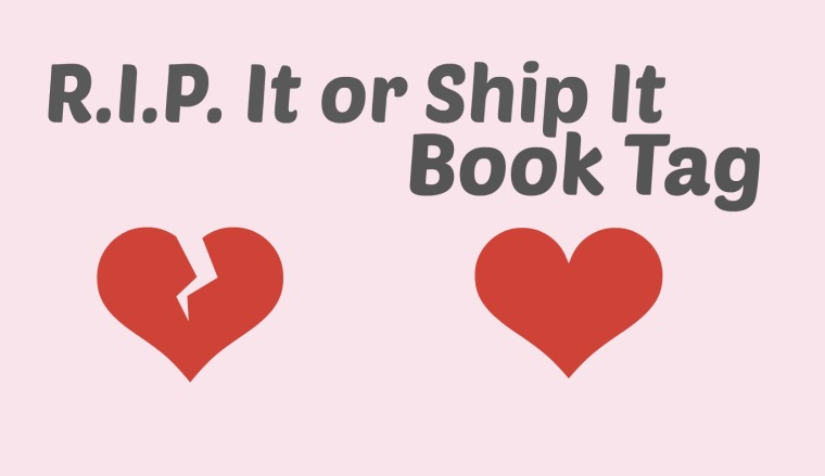 RIP it or Ship It Book Tag